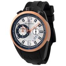 Bomberg 1968 Silver Dial Men's Chronograph Watch