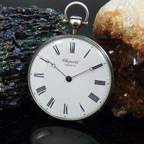 Chopard Taschenuhr L.u.c. 800 Er Silber   Ø 42 Mm   Cal. 7001