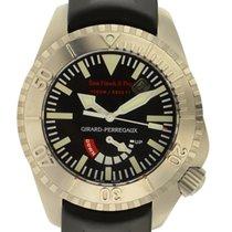 Girard Perregaux Sea Hawk Ii Pro 3000m Titanium Automatic...