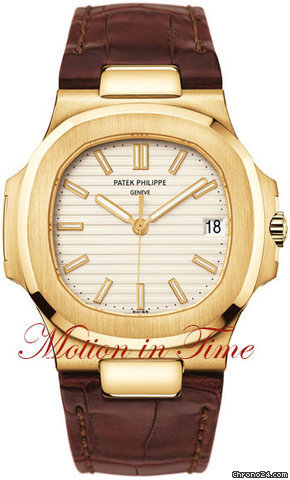 Patek Philippe 5711J - NAUTILUS JUMBO YELLOW GOLD AUTOMATIC