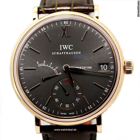 IWC Portofino Hand-Wound Eight Days NEU incl. MWST mit Box + Pa