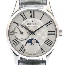Zenith Elite Ultra Thin Lady Moonphase Stahl Automatik 33mm