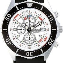 Chris Benz Depthmeter Chronograph 300m CB-C300-W-KBS Herrenchr...
