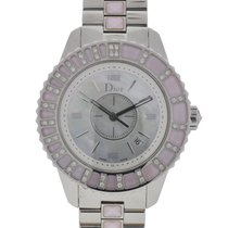 Dior CHRISTAL Stainless Steel Diamond Ladies Watch