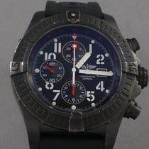 Breitling Blackbird Avenger Large men's PVD case w/Rubber...