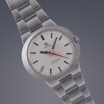 Omega Dynamic stainless steel manual watch