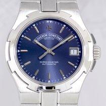 Vacheron Constantin Overseas blue dial Steel Automatic...