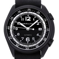 Hamilton Khaki Aviation 41 Pilot Pioneer Black