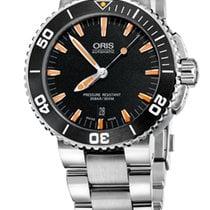 Oris Aquis Date Steel Orange