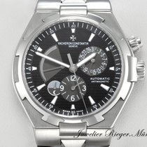 Vacheron Constantin OVERSEAS DUAL TIME GMT STAHL 47450 AUTOMATIK