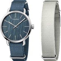 ck Calvin Klein EVEN K7B211WL Unisexuhr Armband auswechselbar
