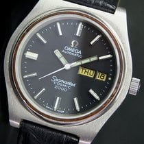 Omega Seamaster Cosmic 2000 Automatic Day Date Steel Mens Watch