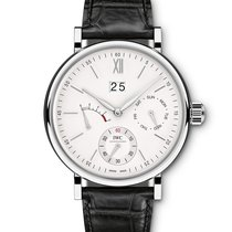 IWC Portofino Day and Date  Silver  Dial Hand Wind IW516201...
