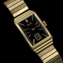 Zenith 1940's Vintage Mens Dress Watch - 14K Gold
