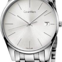 ck Calvin Klein time K4N21146 Armbanduhr flach & leicht