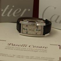 Cartier Tank Cintrée Dual Time Ref. 2767 Oro Bianco EDIZ....
