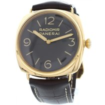 Panerai Men's  Radiomir 18K Rose Gold Watch PAM00379