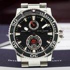 Ulysse Nardin Maxi Marine Diver Black SS / SS Bracelet