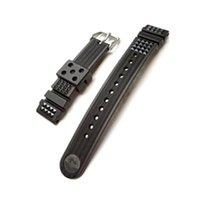 Seiko Armbänder rubber waffle strap / Kautschukband 20mm Diver...