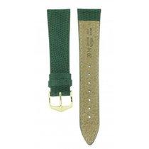 Hirsch Rainbow Green Leather 20mm