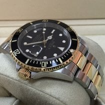 Rolex Oyster Submariner Gold Steel Black Dial 40 mm (2008)