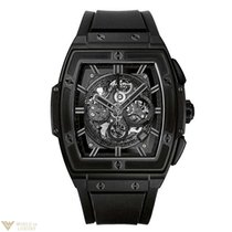 Hublot Spirit of Big Bang Chronograph Ceramic Rubber Automatic...