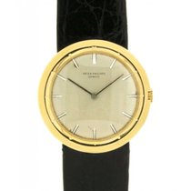 百達翡麗 (Patek Philippe) 3457 Yellow Gold, Leather, 29mm
