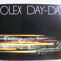 勞力士 (Rolex) DAY-DATE Booklet 1980/US. Rare.