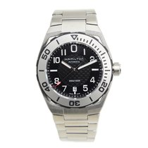 Hamilton 卡其海軍系列 Stainless Steel Black Automatic H78615135