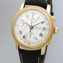 Tissot Bridgeport Chronograph Automatik -Gold 18k/750