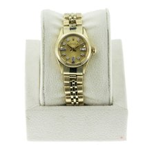 Rolex Oyster Perpetual 6719 14K  Gold Ladies Watch