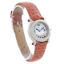 Chopard Happy Sport Diamond White Dial Ladies Watch 27/8245-21