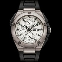 IWC [NEW] IW386501 Ingenieur Double Chronograph Silver Dial