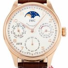 IWC Portugieser Perpetual Calendar Moonphase Ref. IW502306 -...