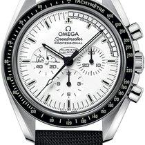 Omega Speedmaster Apollo 13 Silver Snoopy Moon Award 42mm...