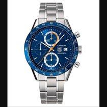 TAG Heuer Carrera Automatic Chronograph Calibre 16 Blue Dial