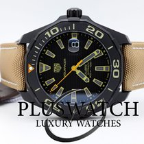 TAG Heuer Aquaracer 300M Calibre 5 Black Titanium Case  43mm T