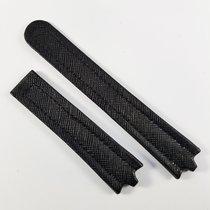Ebel Sportwave 3563 20 / 18 mm black leather strap NEW