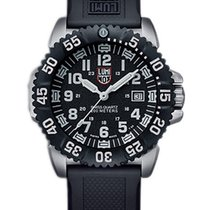 Luminox Mens Steel Colormark Watch - Black Dial - Stainless...