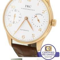 IWC Portuguese Portugieser 2000 7-Day 18K Rose Gold Watch