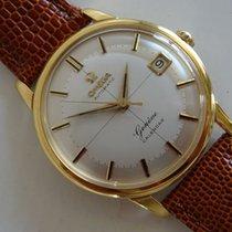 Omega Geneve Calendar Croshair deal vintage men's wristwat...