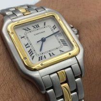 Cartier Large Cartier Panthere 18k Yellow Gold & Stainless...