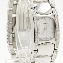 Ebel 9057A28-10 Beluga Manchette in Stainless Steel with...