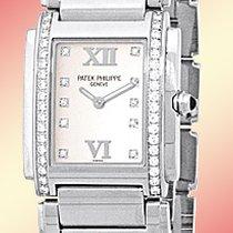 "Patek Philippe Lady's Stainless Steel  Diamond ""Twenty..."