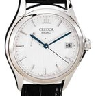 Seiko Credor 18k White Gold Gent's Watch W/power Reserve