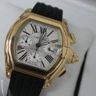 Cartier Roadster XL 18kt Yellow Gold Chrono W62021Y3