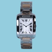 Cartier TANK ANGLAISE Stahl/Rotgold -Neu-