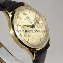Universal Genève Cronografo Anni 50 due contatori Oro giallo