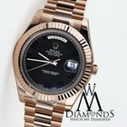 Rolex Day-date Ii 18kt Rose Gold President Men's Watch