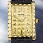Cyma Gold Plated Manual Wind Dress Watch 1970s Swiss Made # T775